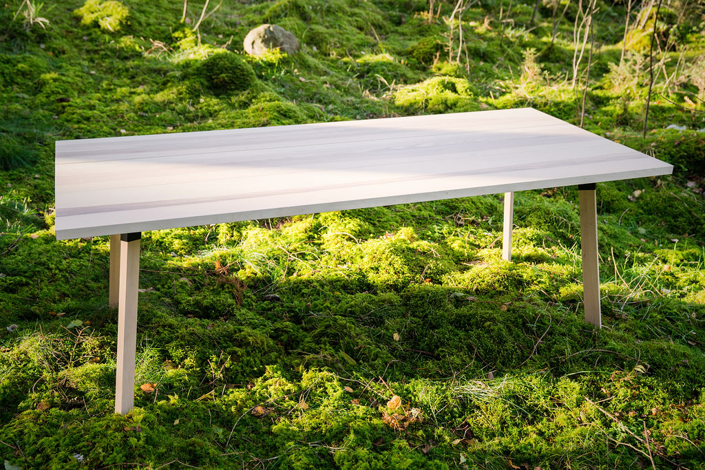 Nordic Stretch Tents - Scandinavian Plank Table